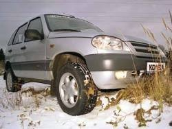 Chevrolet Niva GLS: Не нивоватая я!