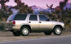 Обзор Chevrolet Blazer (1995-2002) плюсы и минусы