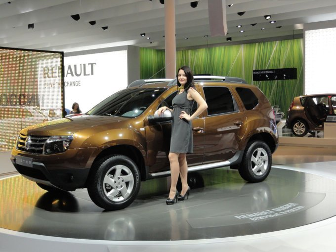 Премьера Renault Duster на Московском автосалоне 2010