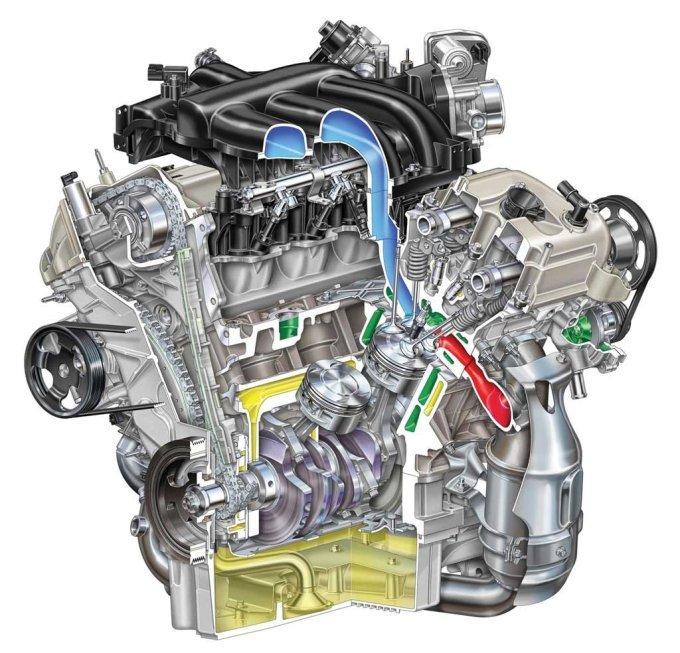 Под капотом «вэна» монтируется бензиновая 24-клапанная «шестерка» - как вариант.
