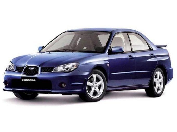 И последний рестайлинг для Subaru Impreza второго поколения, который настиг ее в 2005 году.