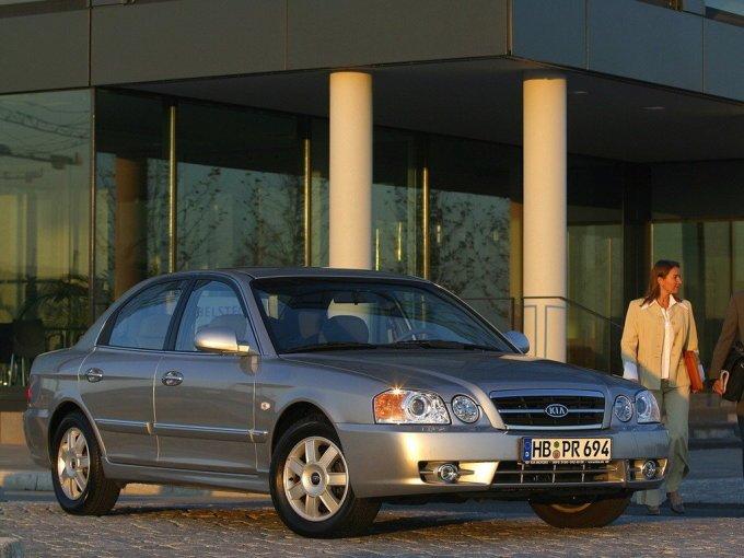 Kia Magentis – он же Kia Optima на внутреннем рынке Кореи