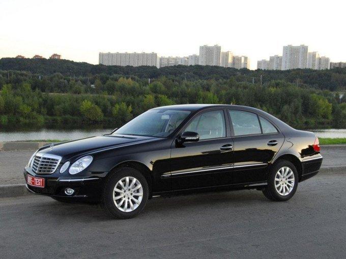 W211 в черном цвете самый распространенный на авторынке России