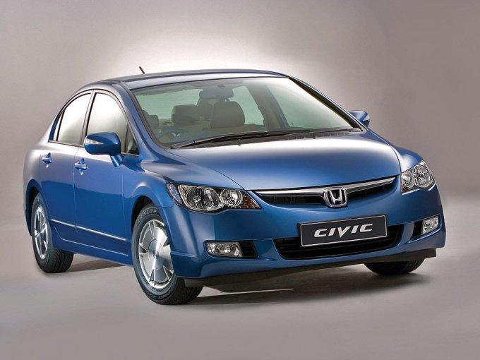 Гибридный Civic заметен по «оригинальным» колесным дискам