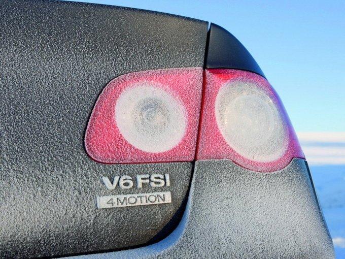 Приятное сочетание 3,2 V6 FSI с полным приводом 4Motion...