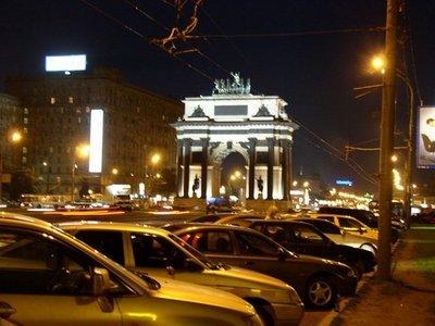 Москве улучшилась дорожная