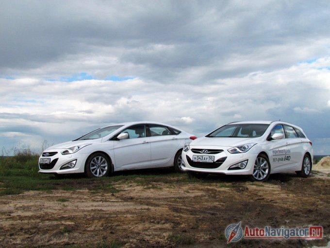 Hyundai i40 – тот редкий случай, когда сначала дебютировал универсал и лишь после него свет увидел седан. Хотя в России все было наоборот: в продаже сначала появился седан, а потом Wagon