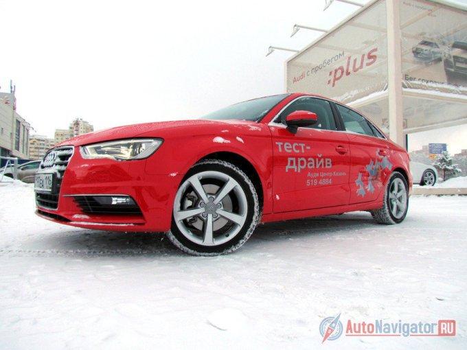 Официальное имя нового седана А3 на домашнем рынке в Германии – Audi A3 Limousine