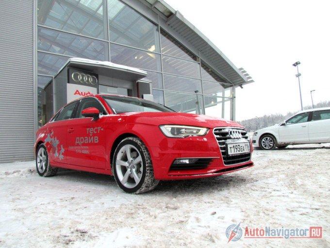 А3 Sedan - прирожденный житель Европы, хотя маркетологи Audi, затевая эту машину, сделали ставки не на домашние рынки, а на США, Китай и Россию