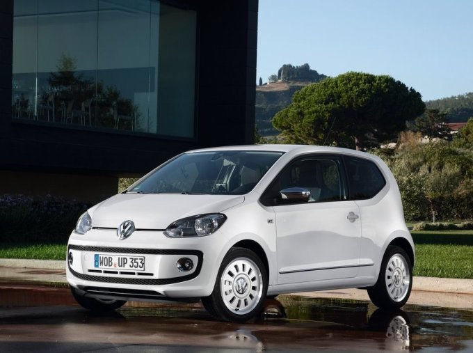 Трехдверный Volkswagen up!