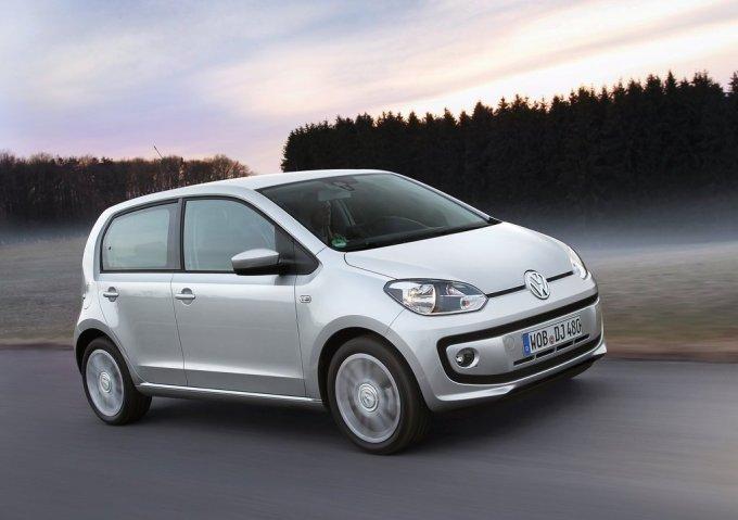 Пятидверный Volkswagen up!