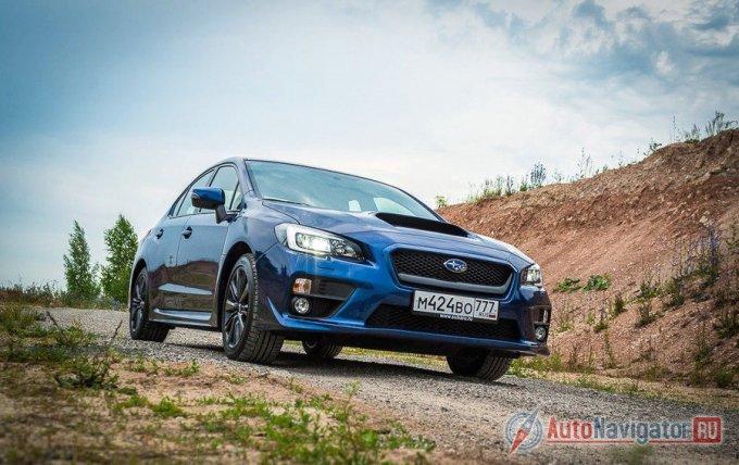 Subaru WRX в своей стихии – на гравии
