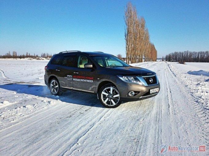 Побывавший на тесте Nissan Pathfinder – гибрид в топовой комплектации