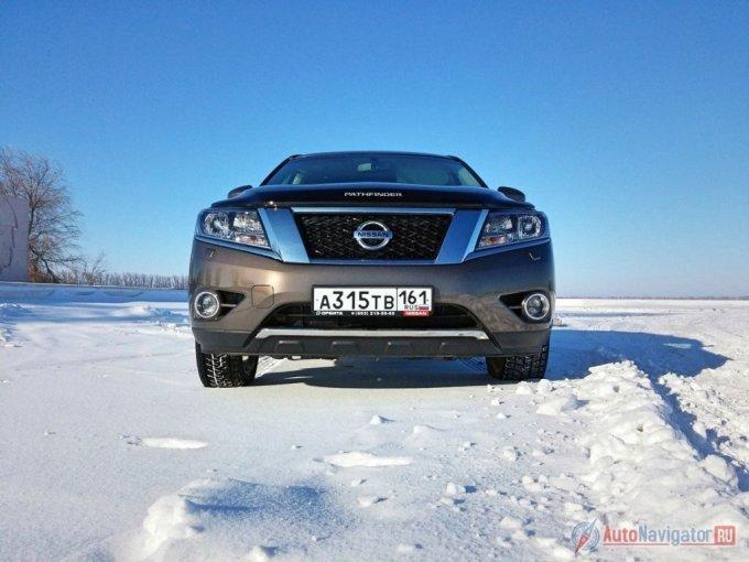 Дорожный просвет у Nissan Pathfinder – 18.1 см