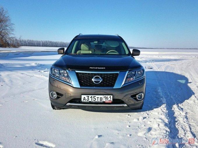 Новая генерация модели Pathfinder только-только появилась у дилеров Nissan