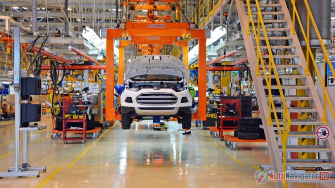 Автомобиль производится по полному циклу, то есть в производственный процесс входят и окраска, и сварка, и ряд других операций