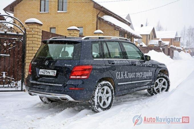 GLK – самый «квадратный» Mercedes-Benz на сегодня, не считая G-класс
