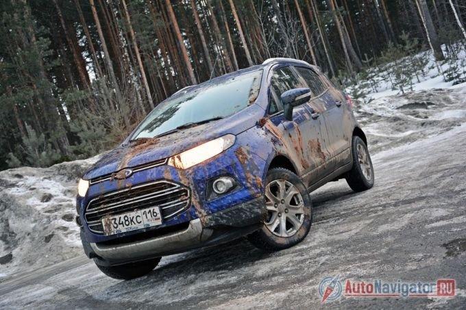 Ford EcoSport по-прежнему можно считать новинкой. Производство было запущено во второй половине прошлого года. На дорогах этих автомобилей все еще единицы