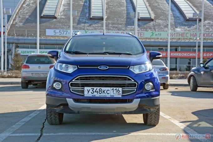 Производят Ford EcoSport на заводе в Набережных Челнах – в стенах, откуда когда-то сходила «Ока». В середине этого года компанию «Экоспорту» на конвейере должна составить обновленная «Фиеста»