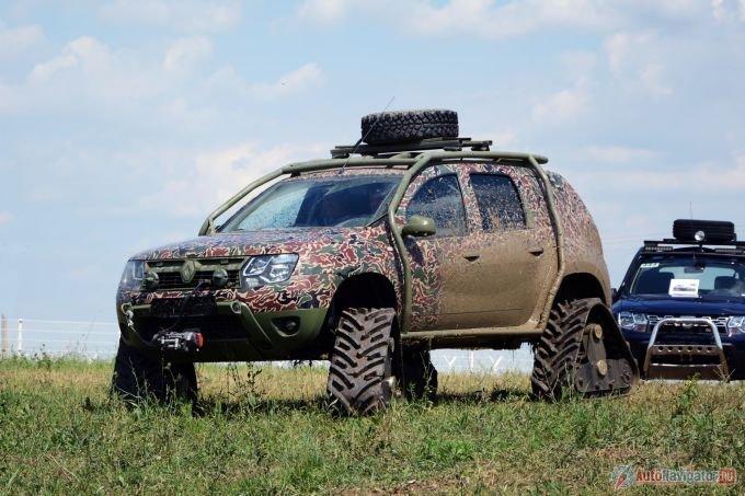 Гусеничный Renault Duster