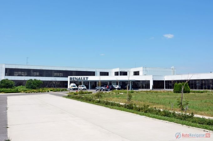 Так выглядит исследовательский центр Renault в Румынском городе Титу