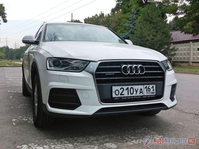 Проще всего обновленный Audi Q3 узнать с «лица»