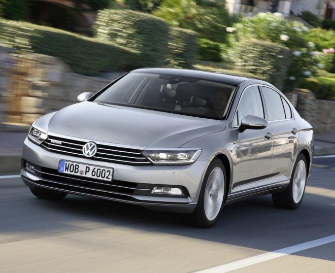 Volkswagen Passat нового поколения получил просто феноменально стильную внешность