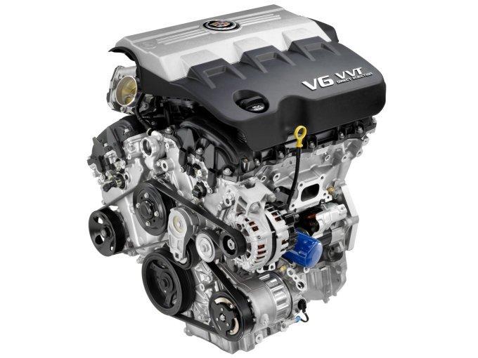 Единственно возможная геометрия мотора на российском рынке для SRX – V6. На фото 3-литровый мотор, «потерявший» после модернизации модели около 16 л/с (до 249 л/с)