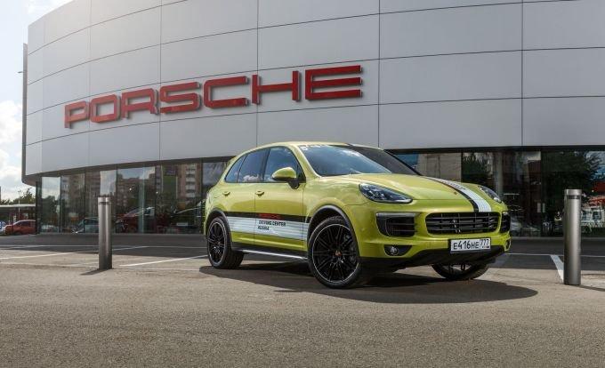 Спаситель марки Porsche – полноразмерный кроссовер Cayenne