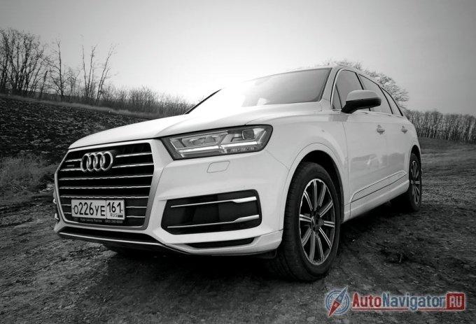 Новый Audi Q7 оснащен по высшему разряду
