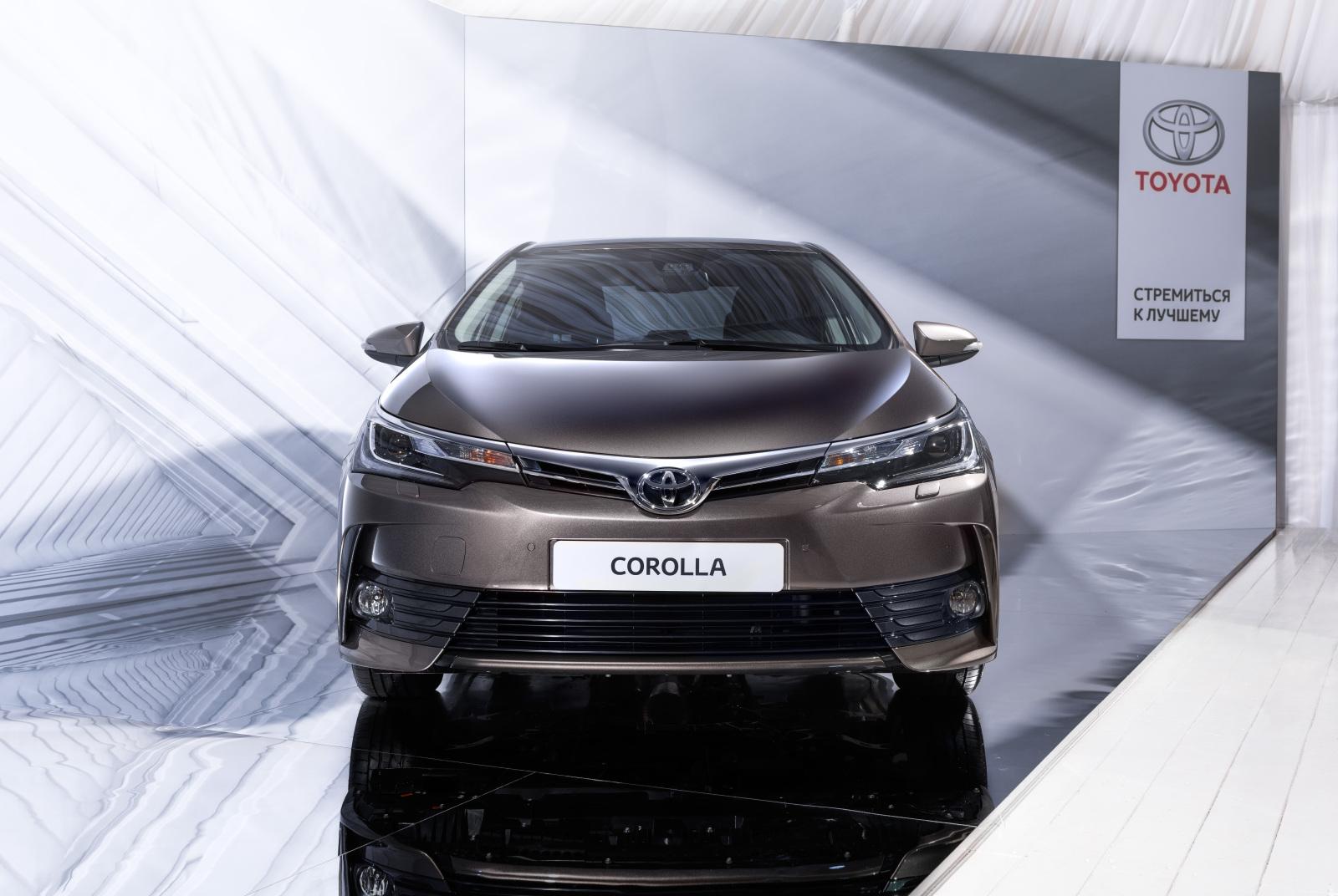 Продажи Toyota Corolla 2016 стартуют в течение лета