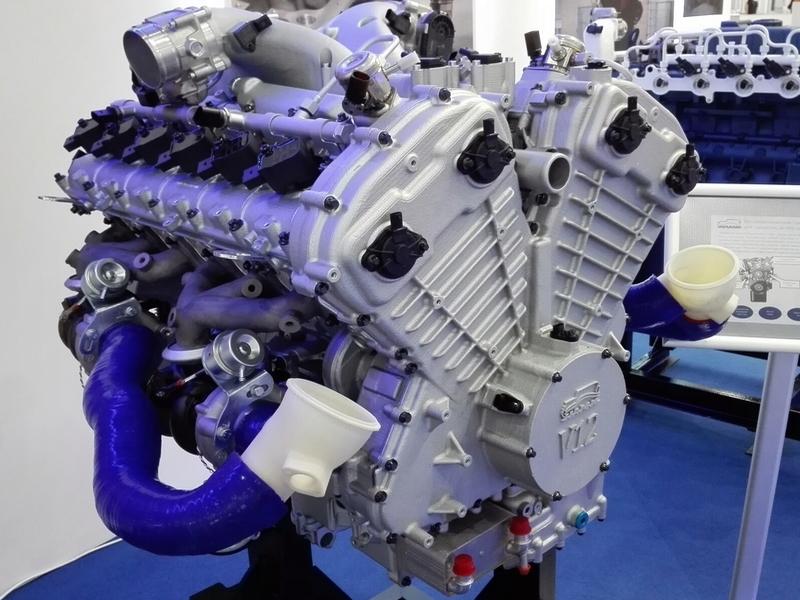 Лимузин «Кортеж» получит 860-сильный мотор