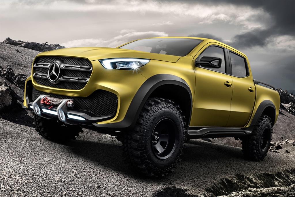 Mercedes-Benz X-Class powerful adventurer