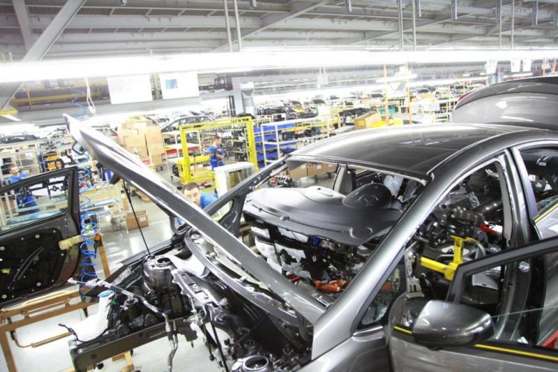 где производится сборка автомобилей kia cerato