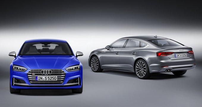 Audi A5 Sportback и Audi S5 Sportback, которые относятся к 2017 модельного года — это, фактически, один и тот же автомобиль