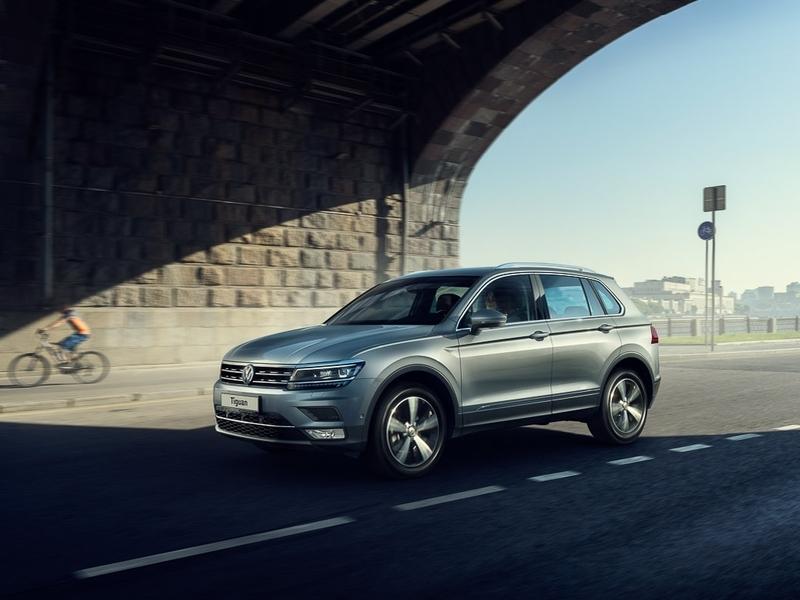 Объявлены русские цены нановый VW Tiguan