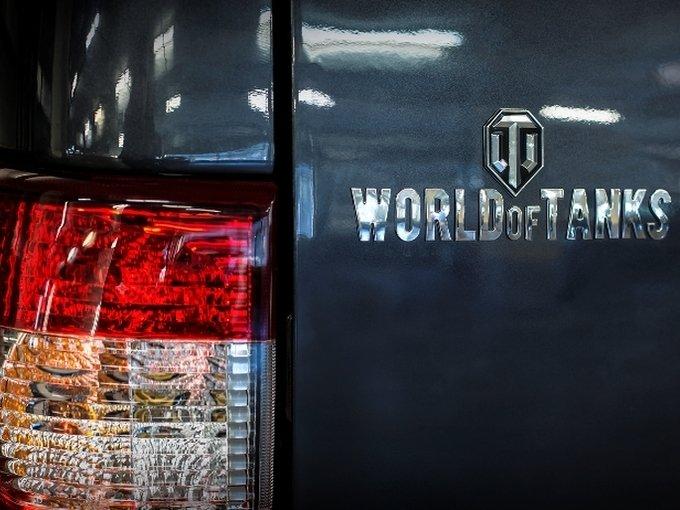 УАЗ объявил цены на Патриот вверсии World ofTanks