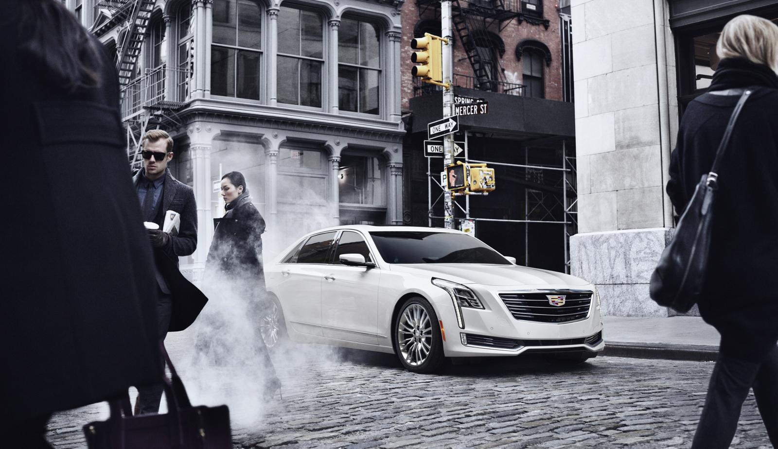 CT6 — это представитель абсолютно новой модельной гаммы Cadillac