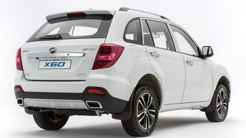 Долгожданный LIFAN X60 2016 модельного года получил более современный и динамичный кузов