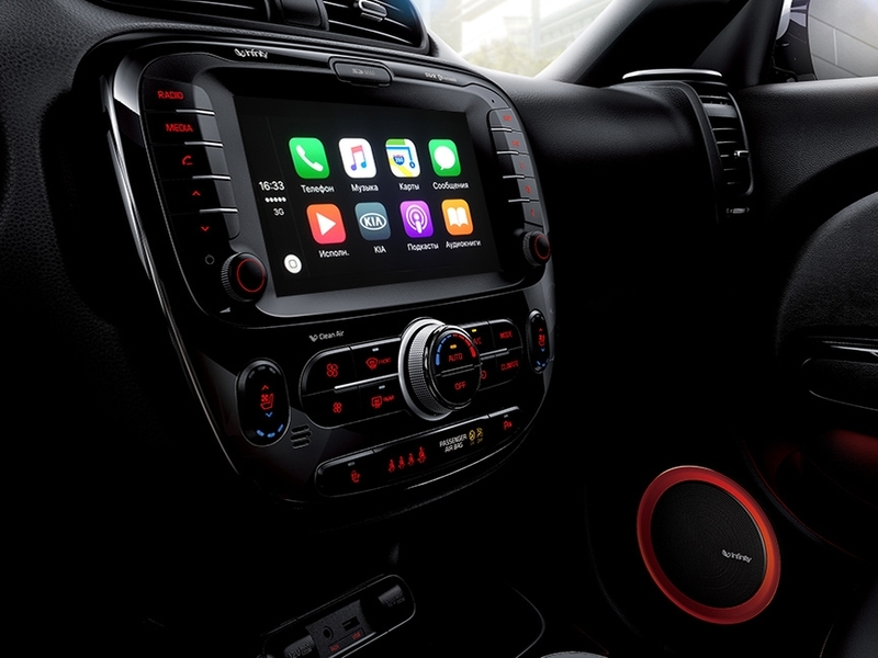 Некоторые модели KIA вРоссии получат поддержку Android Auto иApple CarPlay