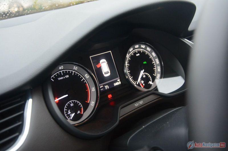 Шкода Octavia 2017 модельного года получит новый бензиновый мотор
