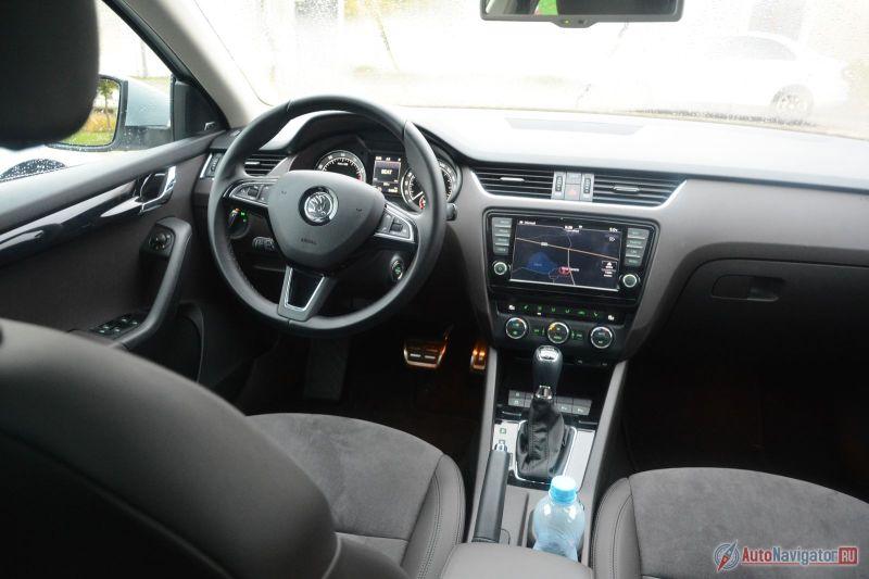 Шкода Octavia 2017 получит новый бензиновый мотор