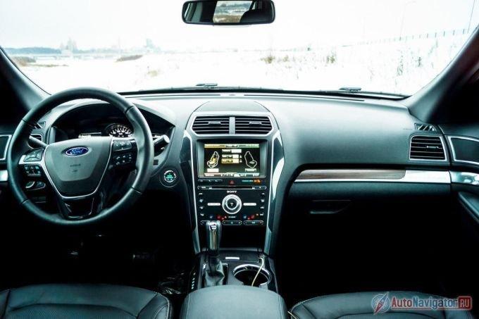 Ford Explorer 2015: Встреча после обновления