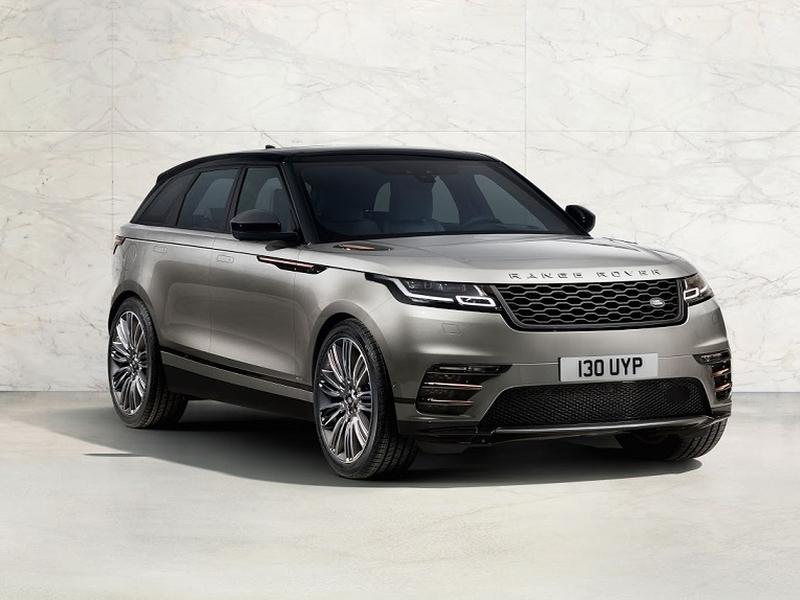 Range Rover Velar рассекречен за несколько часов до премьеры