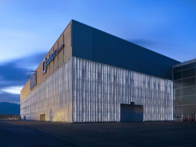 Geneva Palexpo — здание проведения Geneva International Motor Show 2017