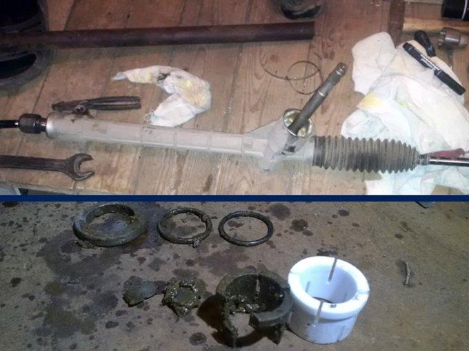 Не спешите менять рулевую рейку при первых стуках. Этот узел можно относительно недорого отремонтировать в сервисе