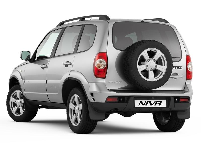 Наднях стартует производство обновленного внедорожника Chevrolet NIVA
