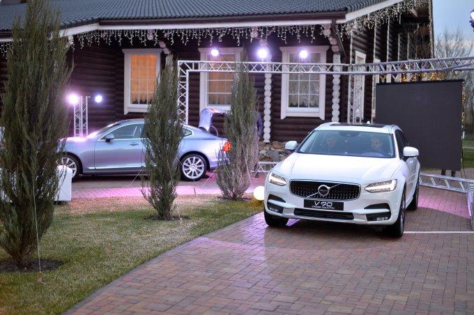 Volvo S90 и V90 Cross Country