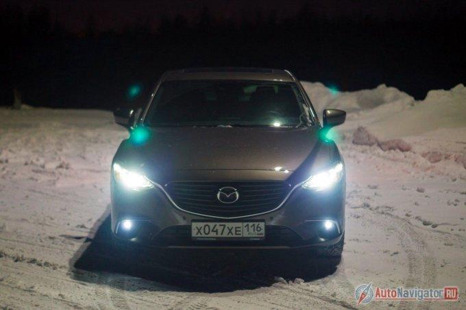 Mazda 6 текущего поколения пережила не первый рестайлинг. Тем не менее, визуальные изменения незначительны