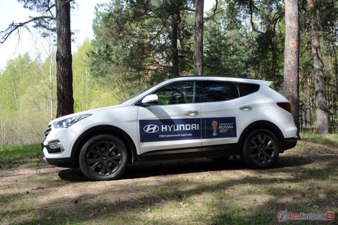 Hyundai Santa Fe: когда нужно все и в одном